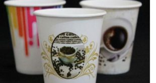 تولید انواع لیوان کاغذی