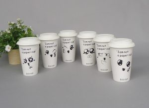 چاپ لیوان کاغذی یکبار مصرف