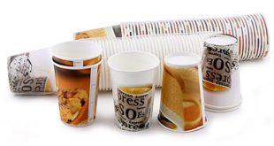 توزیع انواع ظروف یکبار مصرف