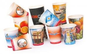 لیوان کاغذی تبلیغاتی
